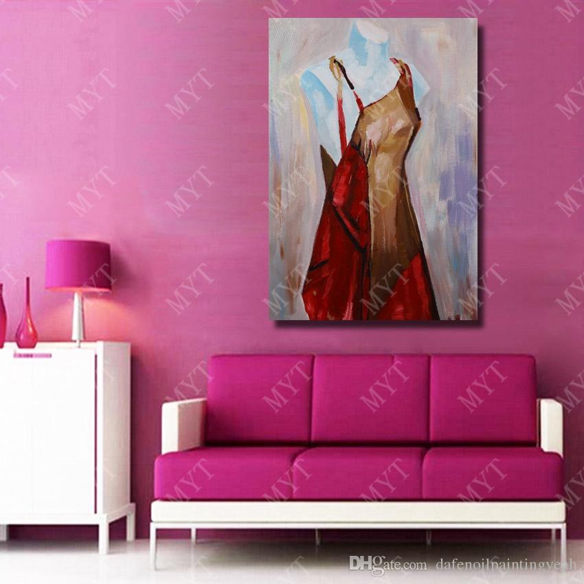 Acheter Modèle Peinture à L Huile Mur Art Décoratif Salon Mur Photos Pas Cher Moderne Peinture à L Huile Sur Toile Haute Qualité De 12 82 Du