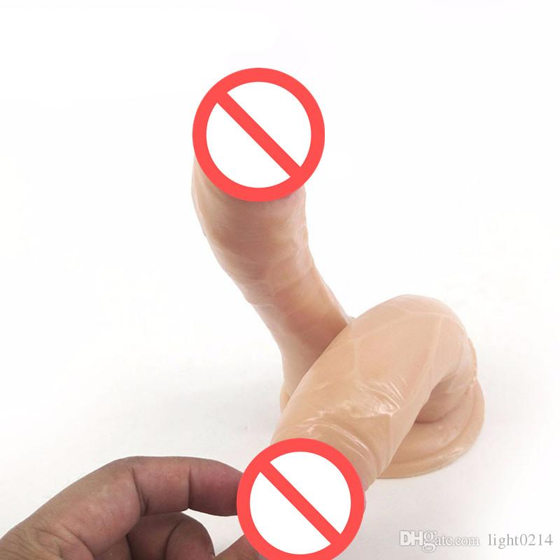 Double Head Big Dildos Realistic Penis Large Dildos Male Artificial Penis Clitoral G-Spot Stimulator Sex Toys for Women C3-1-71