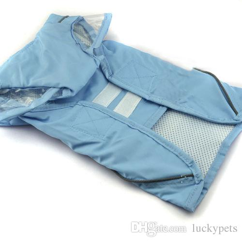 Pets Rain Coat For Small Dogs Pet Jacket Casual Waterproof Dog Clothes Rainwear Clothes With 160919