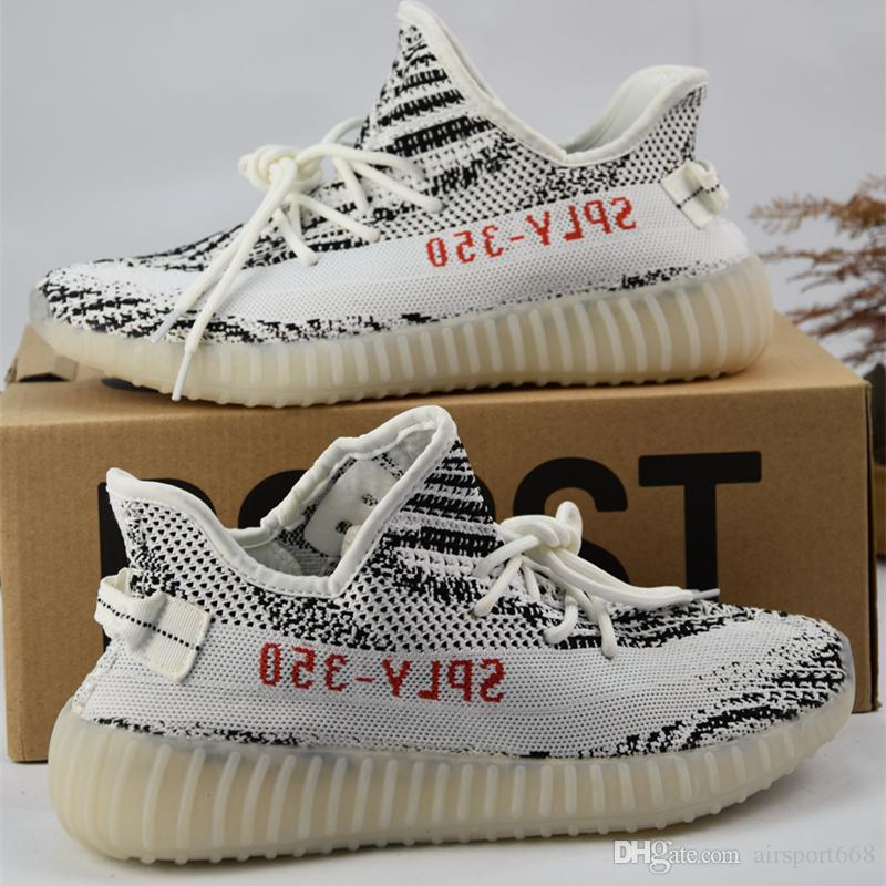 2017 Adidas New 350 Yeezy Boost Beluga 2.0,Mesh Blade V3 Sply 350 V2 Cp9366  Cp9654 Zebra Cp9652 Breds Running Shoes Sneaker Best Running Shoes For Flat  Feet ...