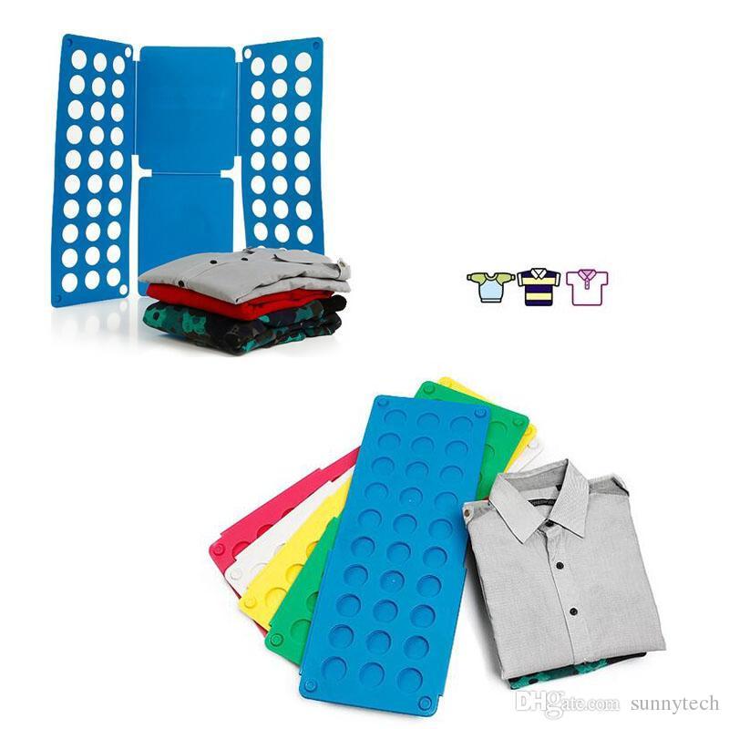 Clothes Folding Board Magic Fast Speed Folder Multi Functional Shirts Folding Board for Kids Children Garment ZA1307
