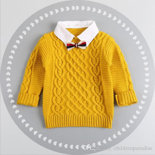 7820f7975037 Hot Winter Children Clothing Unisex Kids Fashion Thick Knitted ...