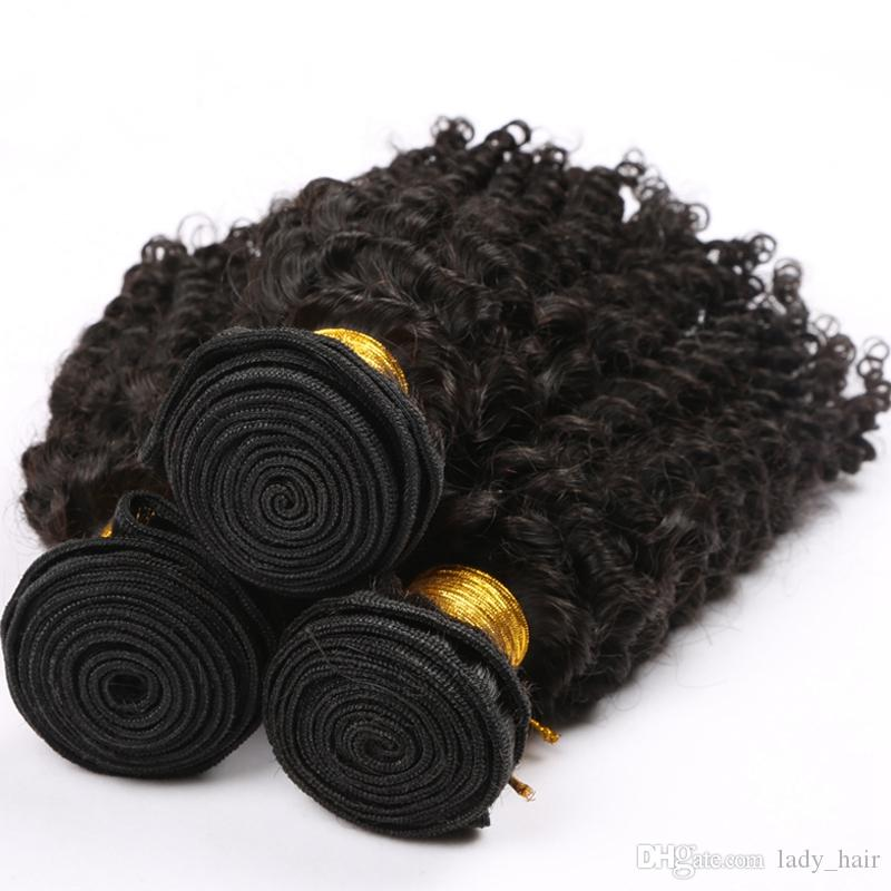 Virgin Brazilian Kinky Curly Hair With 4x4 Silk Base Closure Virgin Brazilian Silk Top Closure With Human Hair Weave Bundles