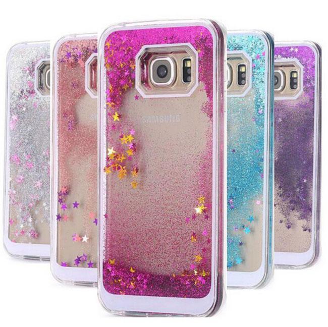 quality design 3f19e b06fb Floating Glitter Star Quicksand Liquid Dynamic Case For Samsung Galaxy J2  A3 Grand Prime Core 2 G355h Grang Duos i9082 MOTO G2 G3 SONY Z5
