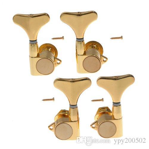 K - 813 baixo partes ajuste de baixo elétrico torção Fechado botão de pescoço baixo knob Quasi eixo roll-up cordas