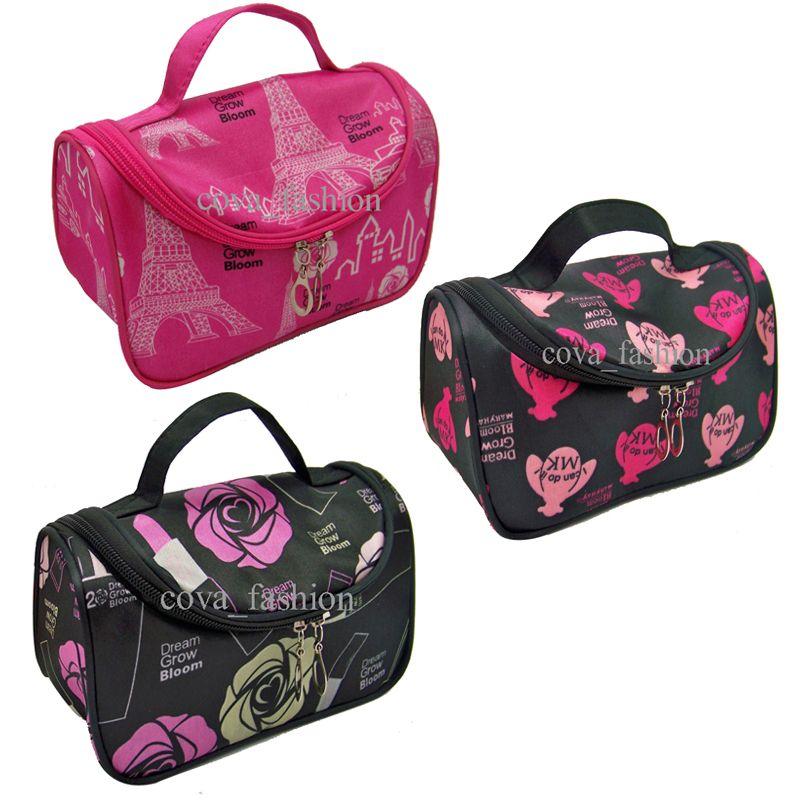 Discount Hot Sale Cheap Zipper Makeup Clutch Women's Travel Cosmetic Bag DHL Wholesale