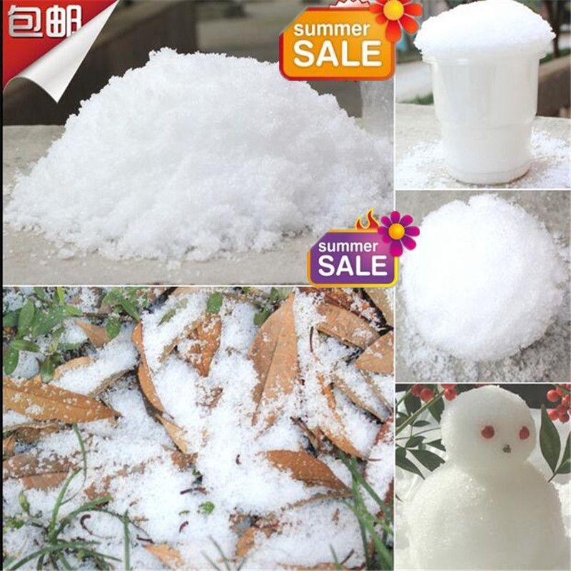 Man Made Snow Magic Diy Instant Artificial Snow Powder Simulation