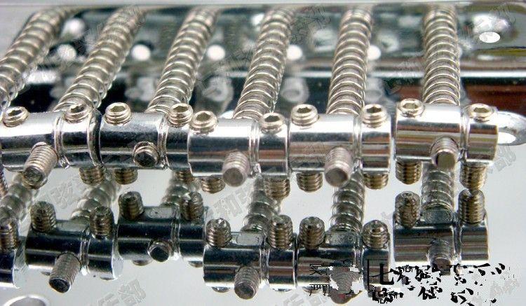 T03 corde chitarra Ponte Saddle Hardtail Bridge Top Load Chitarra elettrica Ponte Chitarra Ricambi accessori