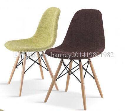 eames dining chair replica chairs for sale molded plywood knock off fabric seat hotel