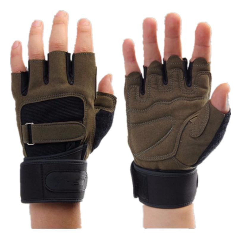 Weight Lifting Gym Gloves Men Sports Gloves Fitness Workout Exercise