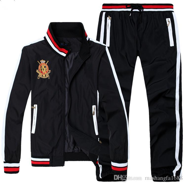 20ss Men's Hoodies and Sweatshirts Sportswear Man Polo Jacket pants Jogging Jogger Sets Turtleneck Sports Tracksuits Sweat Suits