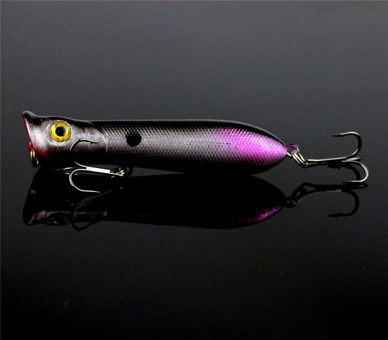 Nueva Popper Wobble señuelo de la pesca 8cm 11g Simula Poper Lures flotante Natación crankbait artificial Hard Bait