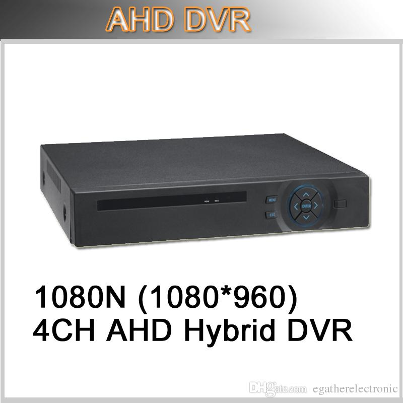 DVR H264 CMS Free Software 4CH 1080N AHD DVR High Definition P2P HD DVR For  AHD camera