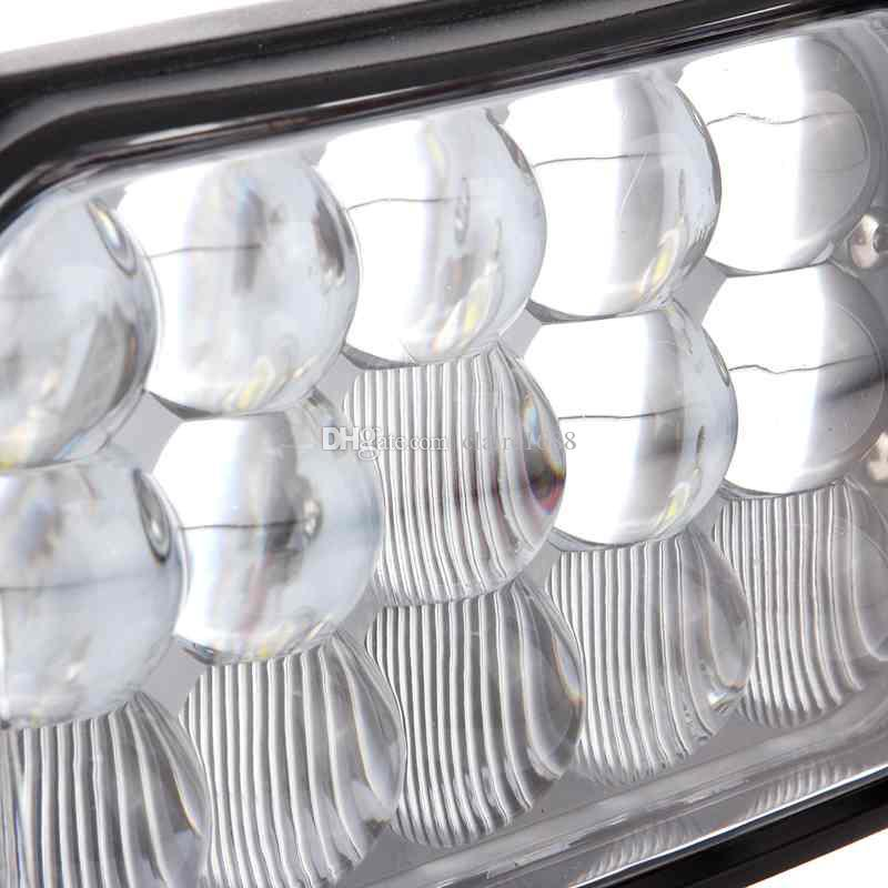 prix usine 6,5 pouces 45w led lumière de conduite 3375 LM super lumineux lampe de tracteur hors véhicule routier, camions