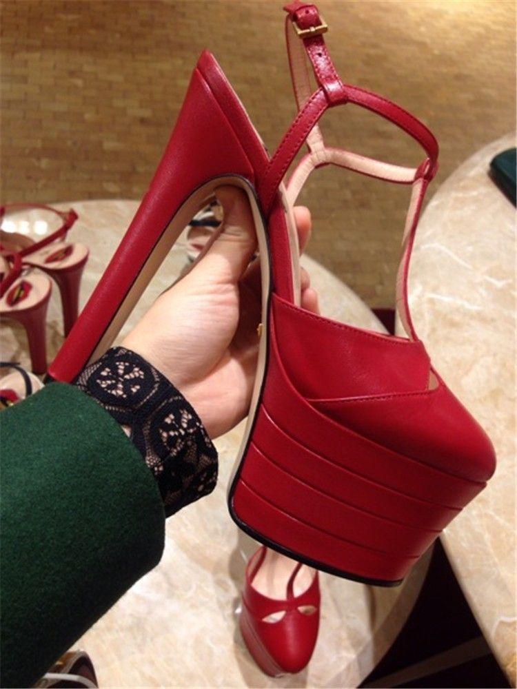 Summer Platform Spiked Gladiator Sandals Donna Tacchi alti metallizzati a righe Décolleté Escarpins Ladies Prom Wedding Shoes Mary Jane Shoes