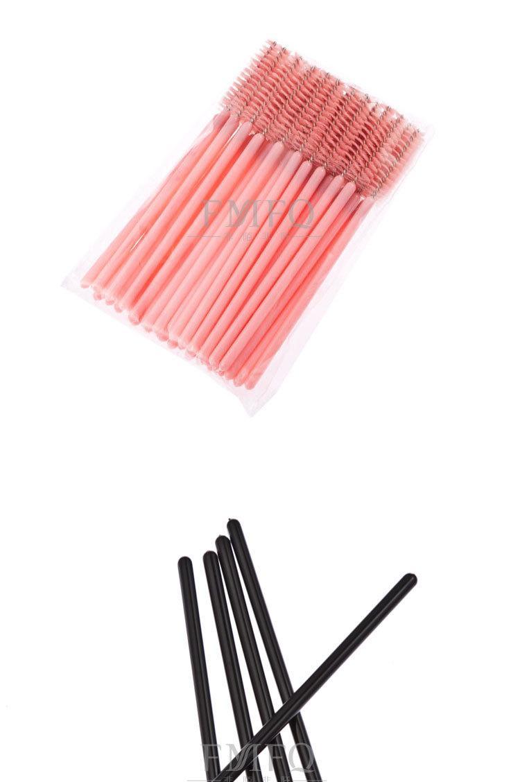 500 adet Yepyeni Tek Kullanımlık Kirpik Maskara Aplikatör Değnek Fırça makyaj fırça Tek-off Kirpik Uzatma ücretsiz nakliye fırçalar