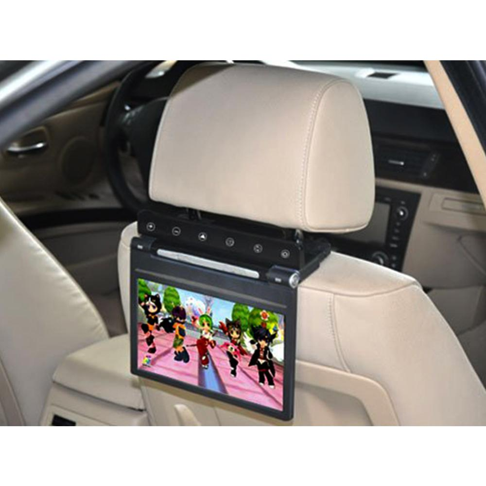 Online cheap 9 inch headrest car dvd player monitor mp5 720p ir game ir usb sd fm by qingyiteam dhgate com