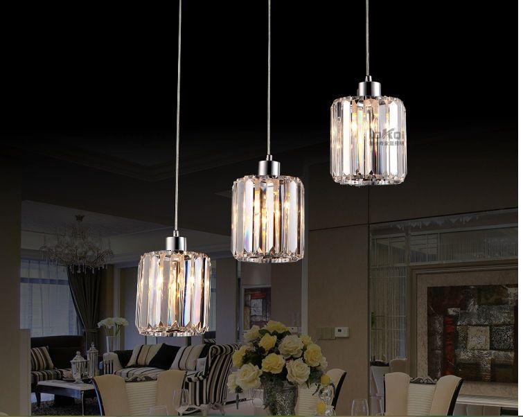 Illuminazione moderna l design k lampada a soffitto di cristallo