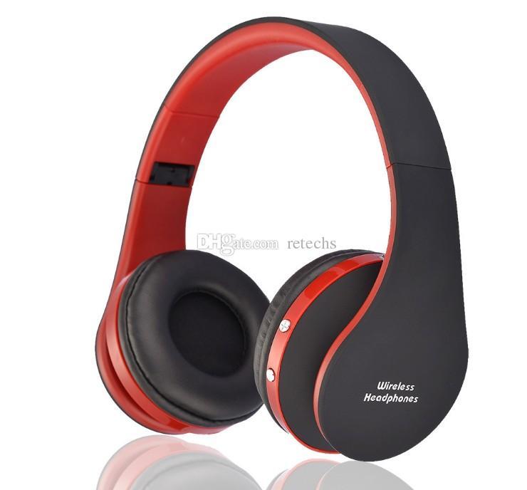 NX-8252 المهنية سماعات لاسلكية قابلة للطي سوبر تأثير ستيريو باس سماعة بلوتوث الرياضية تشغيل V3.0 + EDR مع التعبئة والتغليف التجزئة