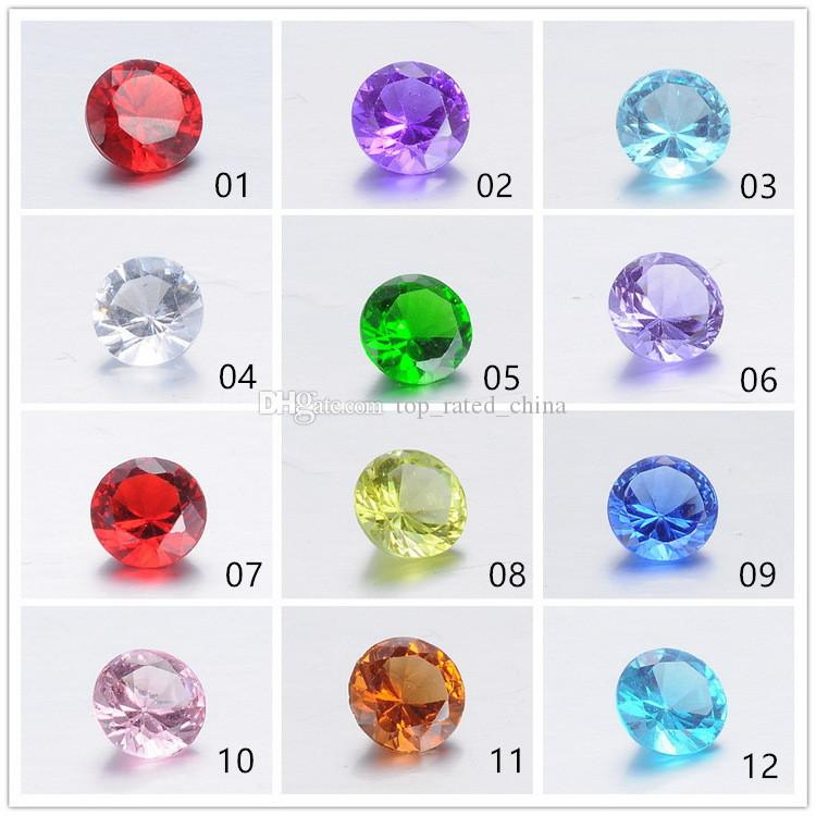 Small 5mm Twinkling Birthstone Crystal Floating Charm for DIY Glass Floating Locket Necklace Bracelet Charms Jewelry Accessories