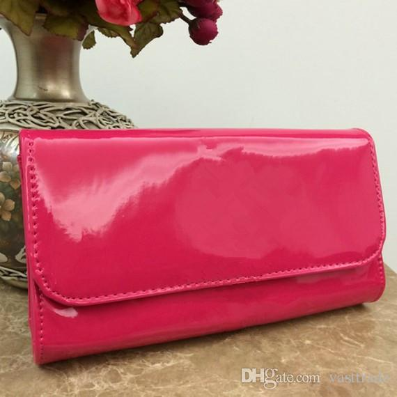 Patent Leather Evening Bag Chain Strap Shoulder Bag Candy Colors ...