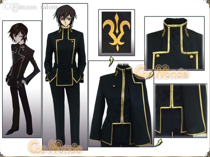 Wholesale New Code Geass Lelouch Cosplay Costume Set Any Size Victorian Costumes Childrens Halloween Costumes From Salom $86.95| Dhgate.Com : lelouch cosplay costume  - Germanpascual.Com