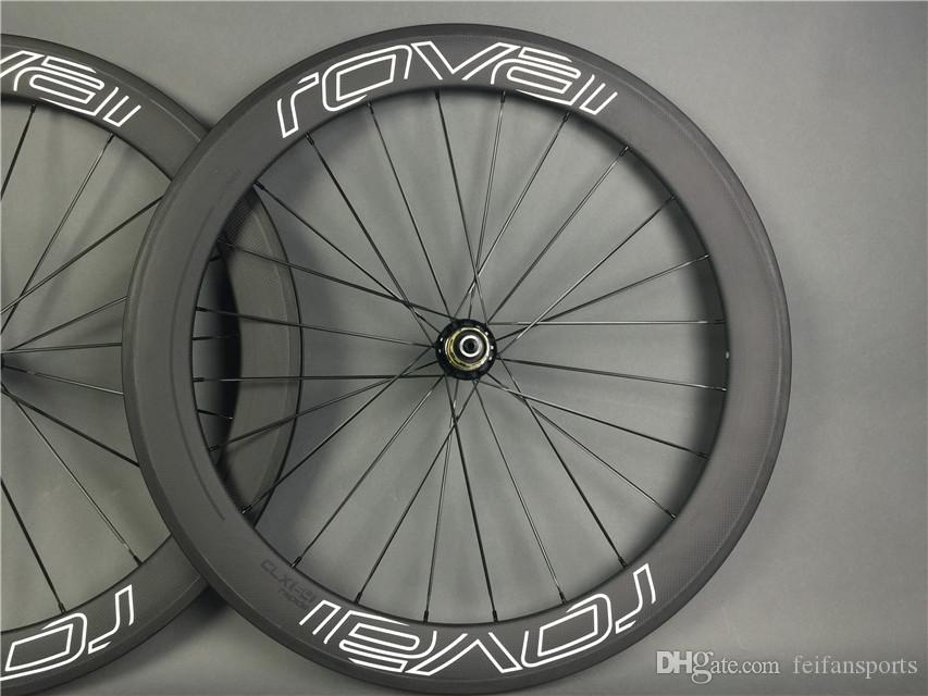 Road Bike 50mm Carbon black Wheels full Carbon fiber Wheelset matte glossy Carbono wheels Tubular clincher Carbon Wheel