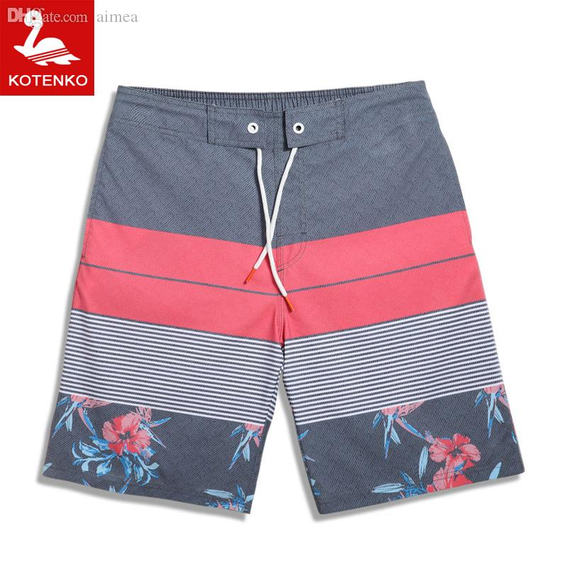100% Quality Mens Casual Shorts Surf Board Shorts Men Plus Size Summer Sport Beach Homme Bermuda Short Pants Quick Dry Beachwear Swimsuit Moderate Cost Men's Clothing