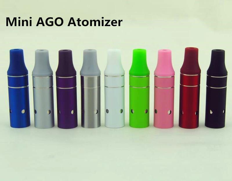 Mini AGO G5 réservoir stylos vaporisateur vaporisateur sec herbe atomiseur AGO g5 Clearomizer Fit ecigs eGo EVOD batterie coloré de haute qualité DHL GRATUIT