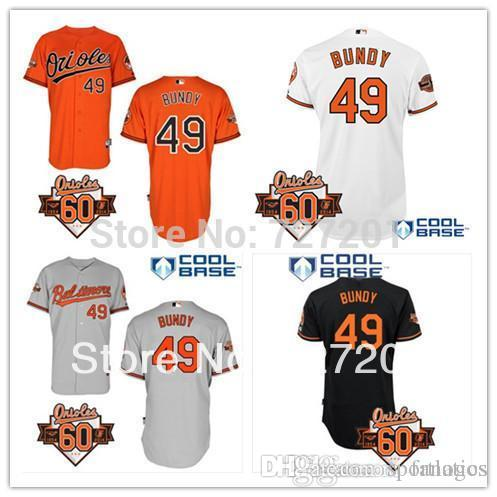 ffbc8c221 ... coupon code for 2016 cheap baltimore orioles baseball jersey 49 dylan  bundy cool base jersey wcommermorative
