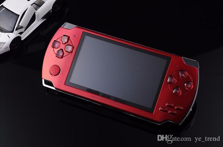 جديد بيع 4GB 4.3 بوصة PMP المحمولة لعبة لاعب MP3 MP4 MP5 لاعب فيديو FM الكاميرا المحمولة لعبة وحدة التحكم