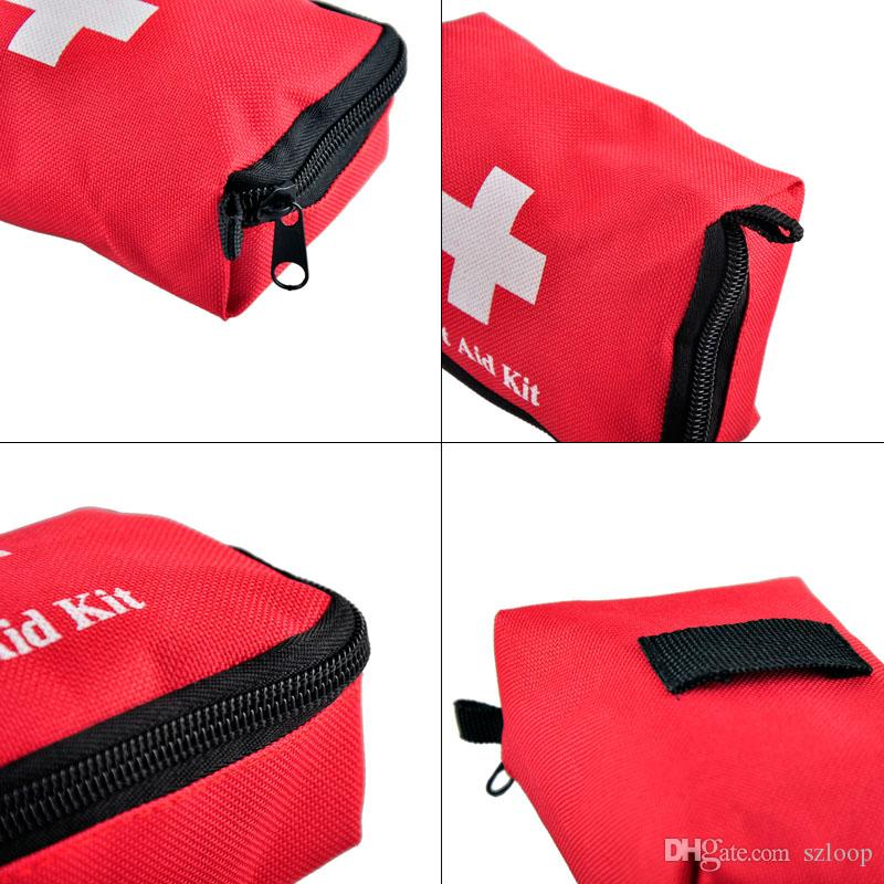 Travel Sports Home Medical Bag Outdoor Car Emergency Survival Mini First Aid Kit Bag empty EDC Bag 2503022