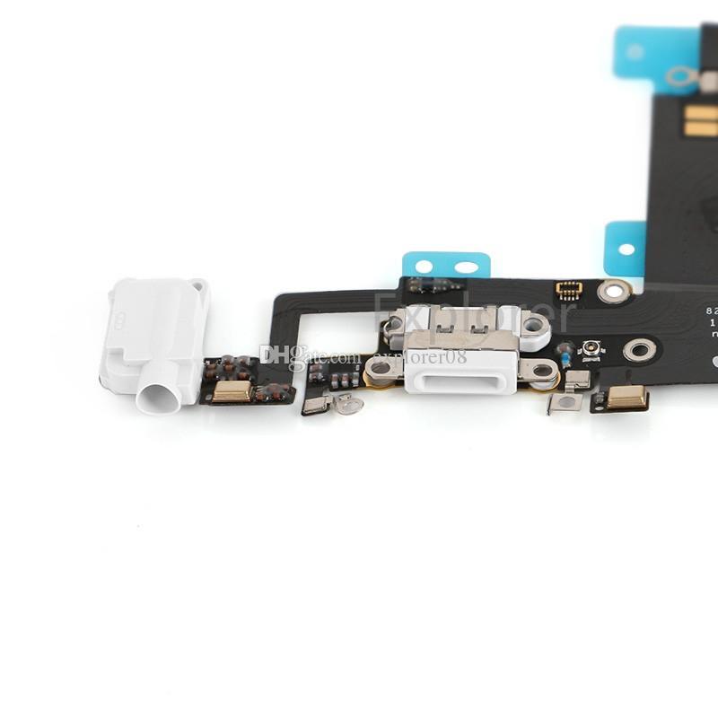 10 ADET Yeni iphone 6 s Için 4.7 '' 6 s Artı 5.5 inç Kulaklık Ses Dock Şarj USB Bağlantı Noktası Bağlayıcı Flex Kablo Değiştirme