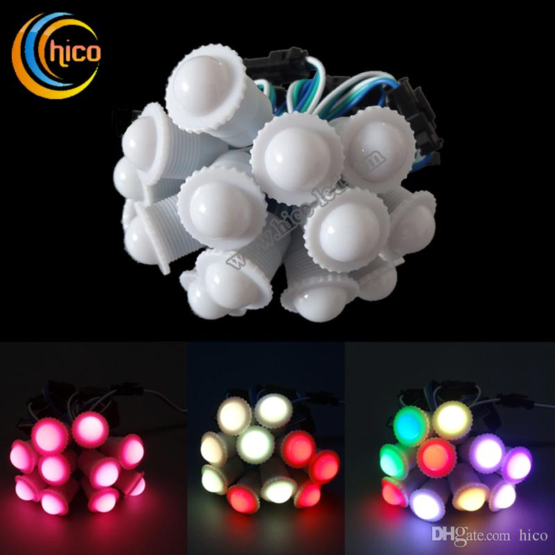 Charming 2016 Christmas Light 16mm Pixel Led Light Source Christmas Lights Dc5v 0.3w  Smd5050 Decorative String For Outdoor Use Heart String Lights String Lamp  From ... Pictures