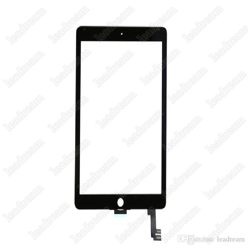 oem tela de toque do painel de vidro digitador para ipad air 2 ipad 6 balck e branco livre dhl