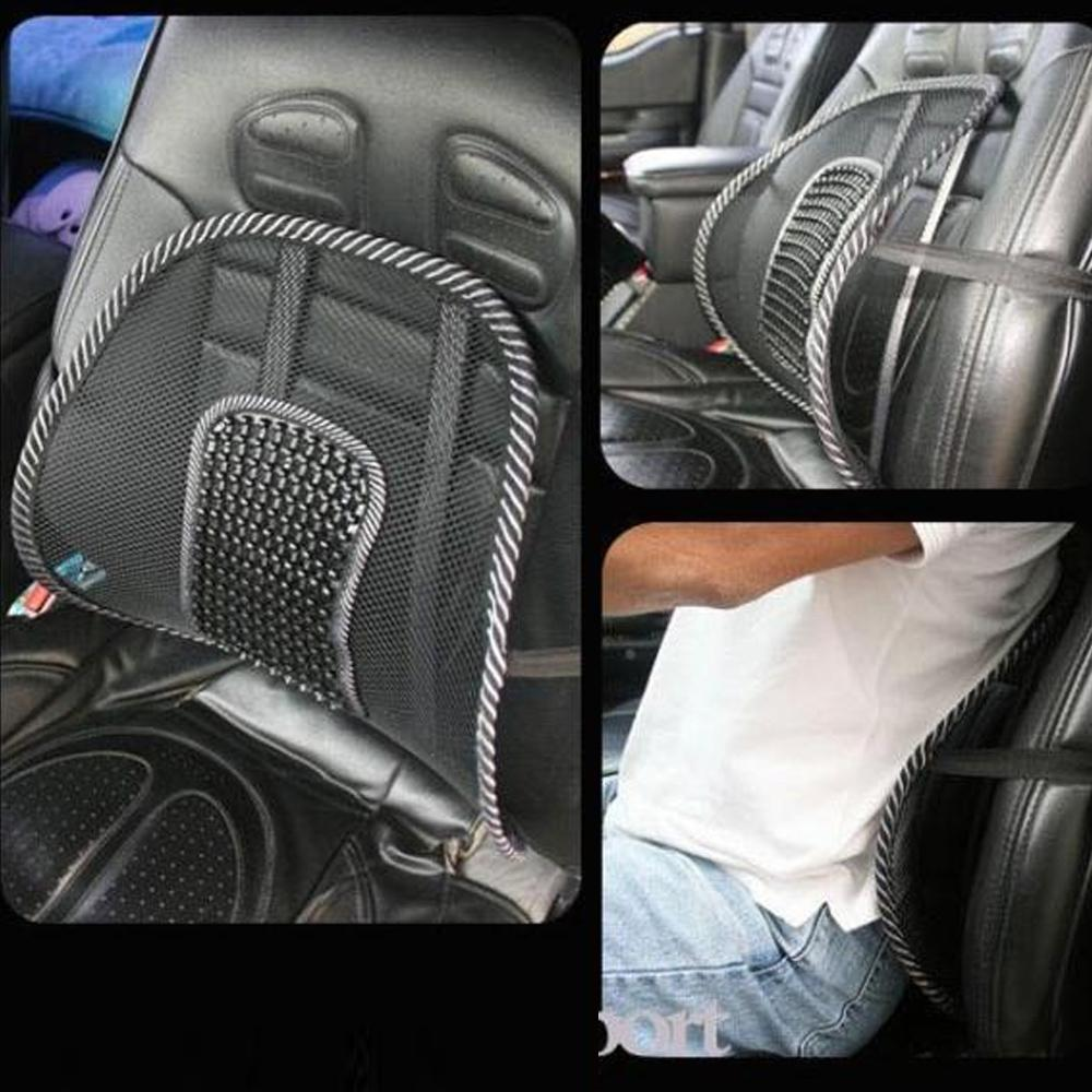 Car Seat Massage Cushions Office Chair Back Lumbar Support Mesh