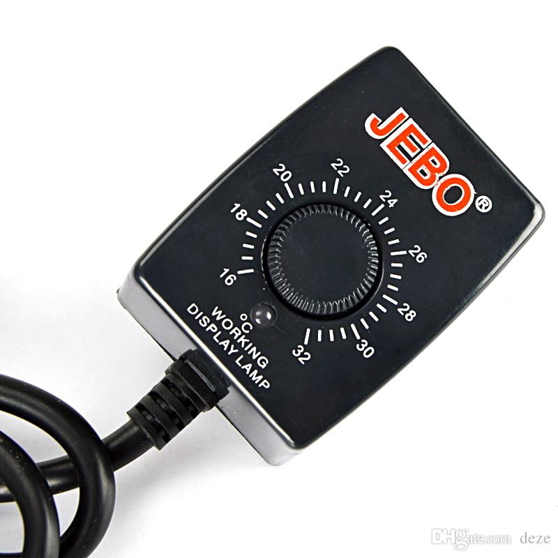 JEBO 3028 50 Watt 16 CM Tauch Aquarium Heizung Edelstahl Heizung Stange f Aquarium Temperatureinstellung Thermostat