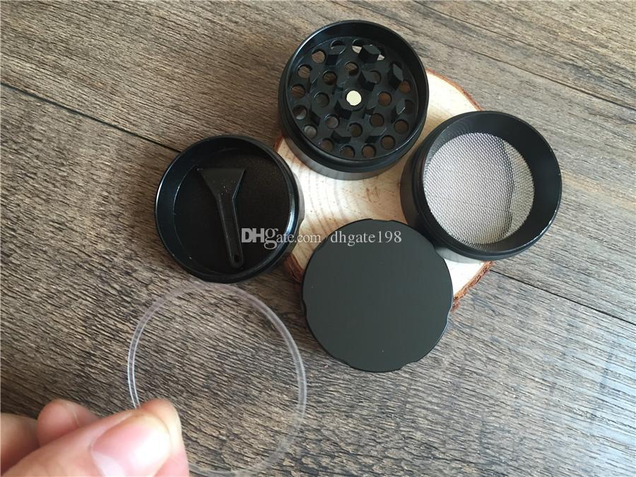 Cheap Melhor Mini 40 milímetros moedor CNC metal sharpstone Grinder Herbal Tabaco para moedor de fumar erva Com ring