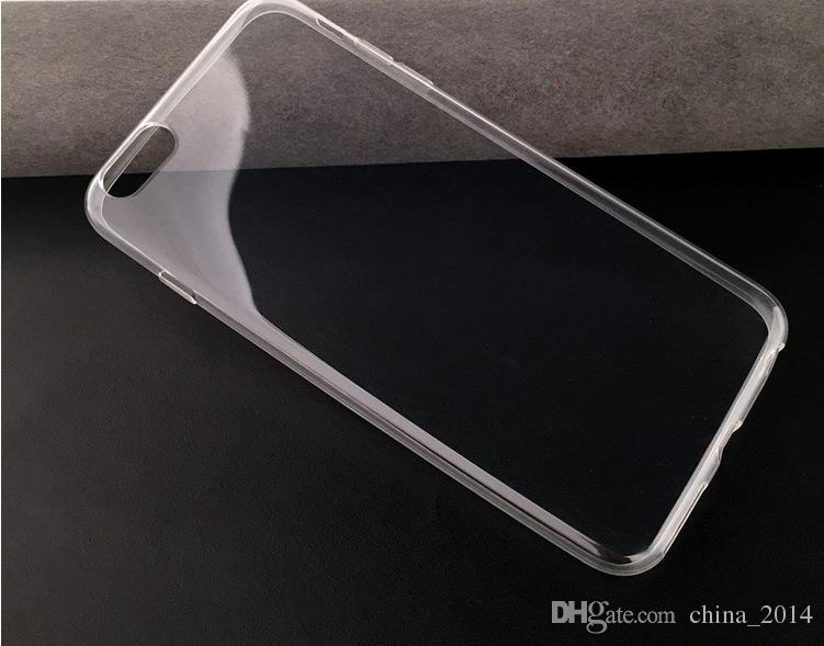 Ultra Thin 0.5mm TPU Soft Case For iphone XS XS MAX XR 8 7 6 for samsung S8 S7 Crystal Colorful Cellphone Shell Cover