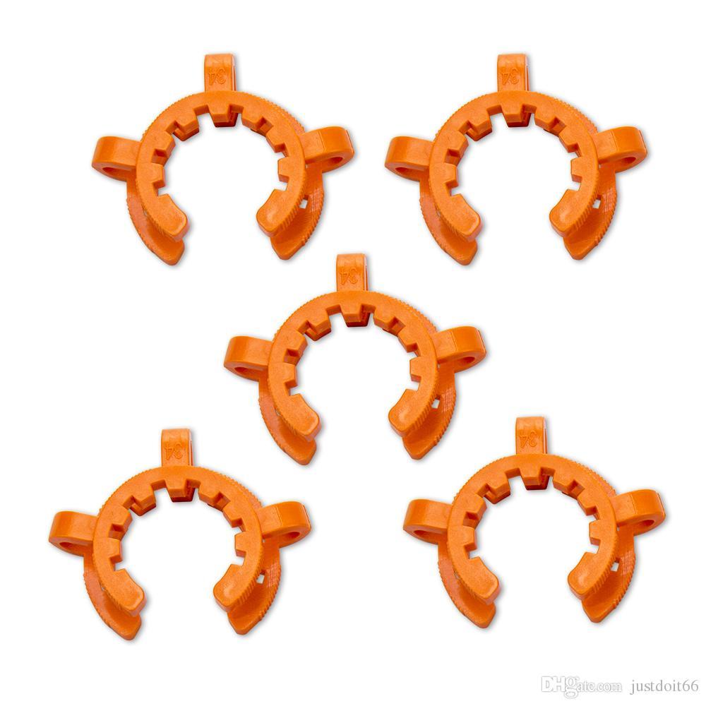 Hot clip Keck coloré Nector Collector pour tubes en verre de verre 40mm 45mm Clips en plastique Keck Livraison rapide Accessoires fumeur