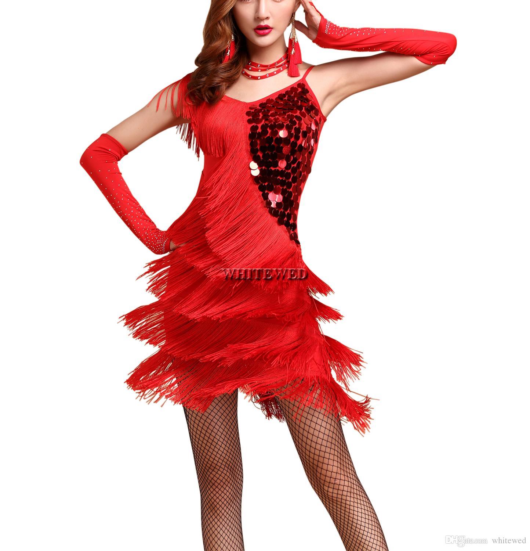 1ded79c27 Compre 20 Gran Gatsby Aleta Traje De Fiesta Inspirado Vestido De La  Vendimia Del Baile De Las Señoras Del Estilo De 1920 Cóctel Vestidos De  Baile Traje De ...