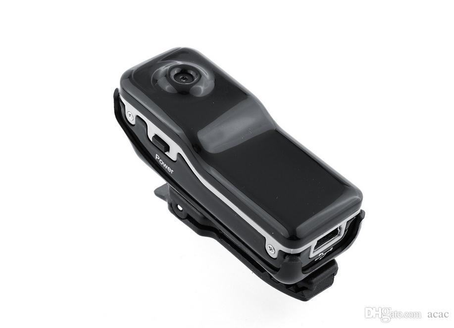 New MD80 Hochauflösender Mini-DV DVR Sport-Video-Kamera aufnehmen Camcorder Tonaufzeichnungsfunktion JBD-MD80 Freies send DHL aktiviert