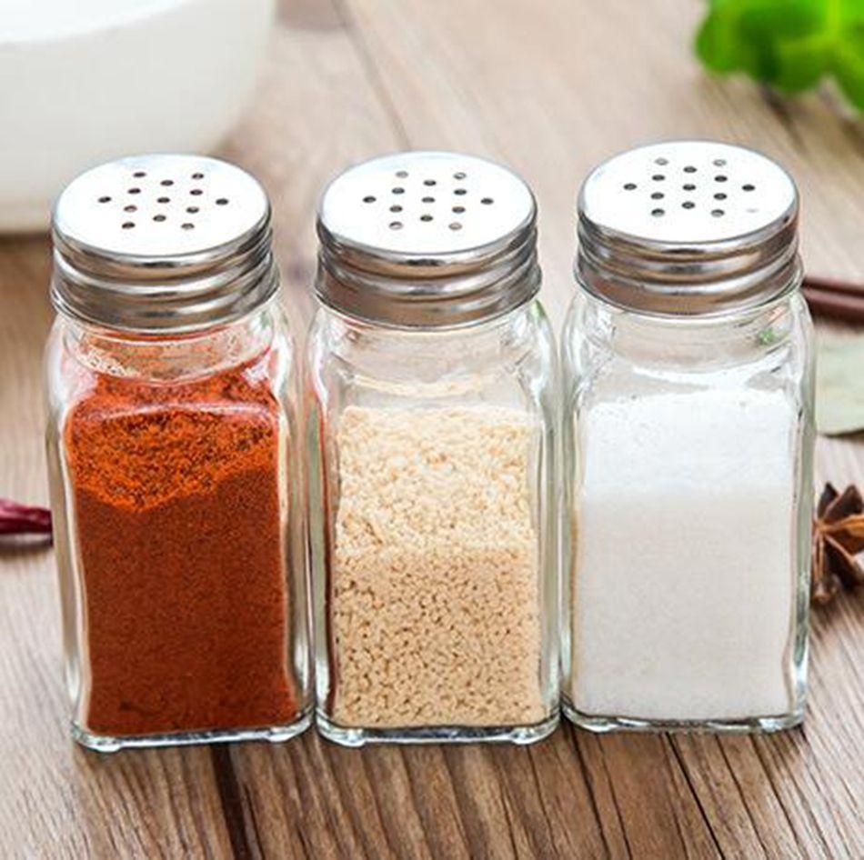 Shop Herb Spice Tools Online Salt Spice Jar Spices Storage Glass