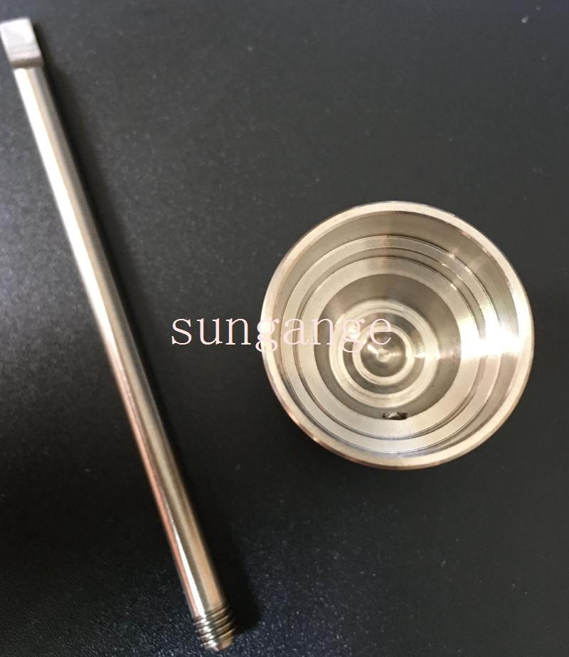 Nuovi chiodi universali in titanio con tappo in titanio GR2 Chiodi in titanio senza titanio con inserto in titanio entrambi i 10mm 14mm 18mm VS Chiodo ceramica chiodo al quarzo