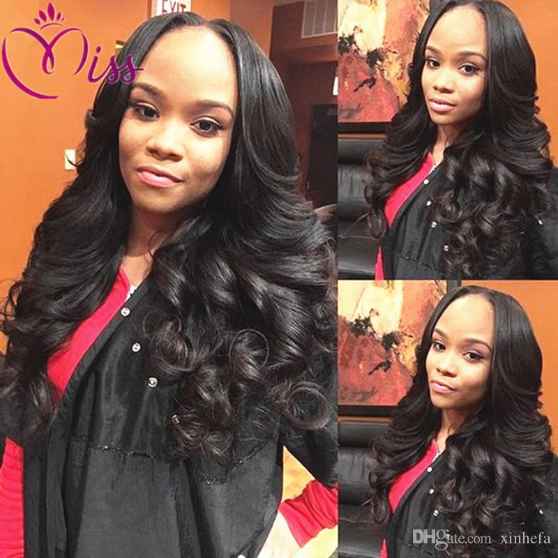 100% Peruvian Body Wave Virgin Hair Full Lace Wigs For Black Women Lace Front Human Hair Wigs 7A Grade Human Hair Wigs
