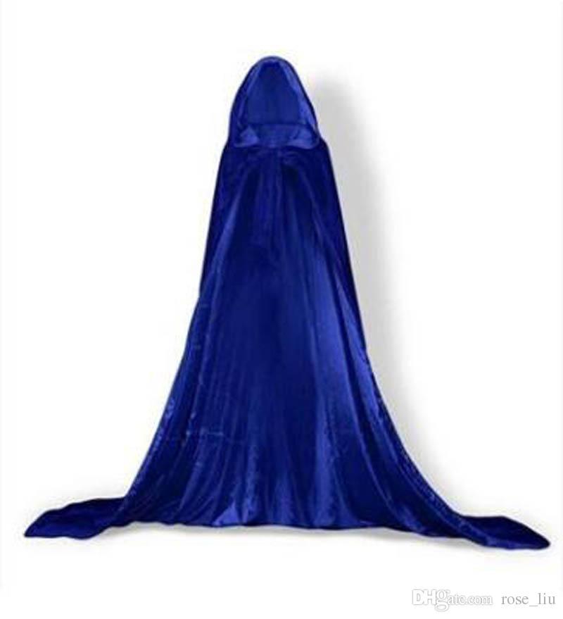 adult Cosplay Halloween Cloak Christmas Costume COS Death Cloak wizard witch Prince princess cloaks XT
