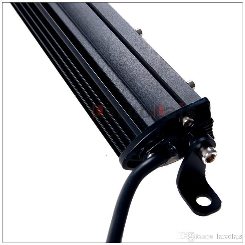 2 stücke 19 '' Zoll 54 Watt Dünne LED Arbeitslichtleiste für Boot Auto Lkw 4x4 SUV ATV Off Road Nebelscheinwerfer