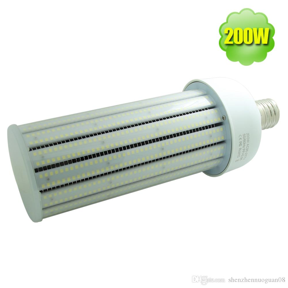 200w led corn bulb cover e40 e39 e26 e27 daylight 135lm w. Black Bedroom Furniture Sets. Home Design Ideas