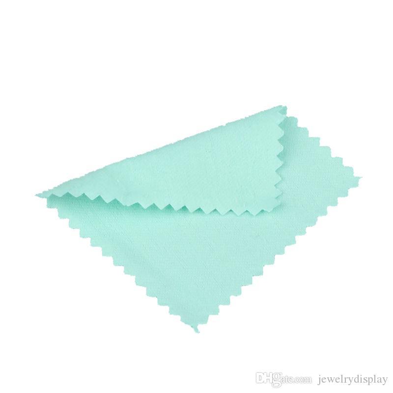 limpieza de joyas de plata paño de limpieza de trapo tela de limpieza de plata tela 8x8cm
