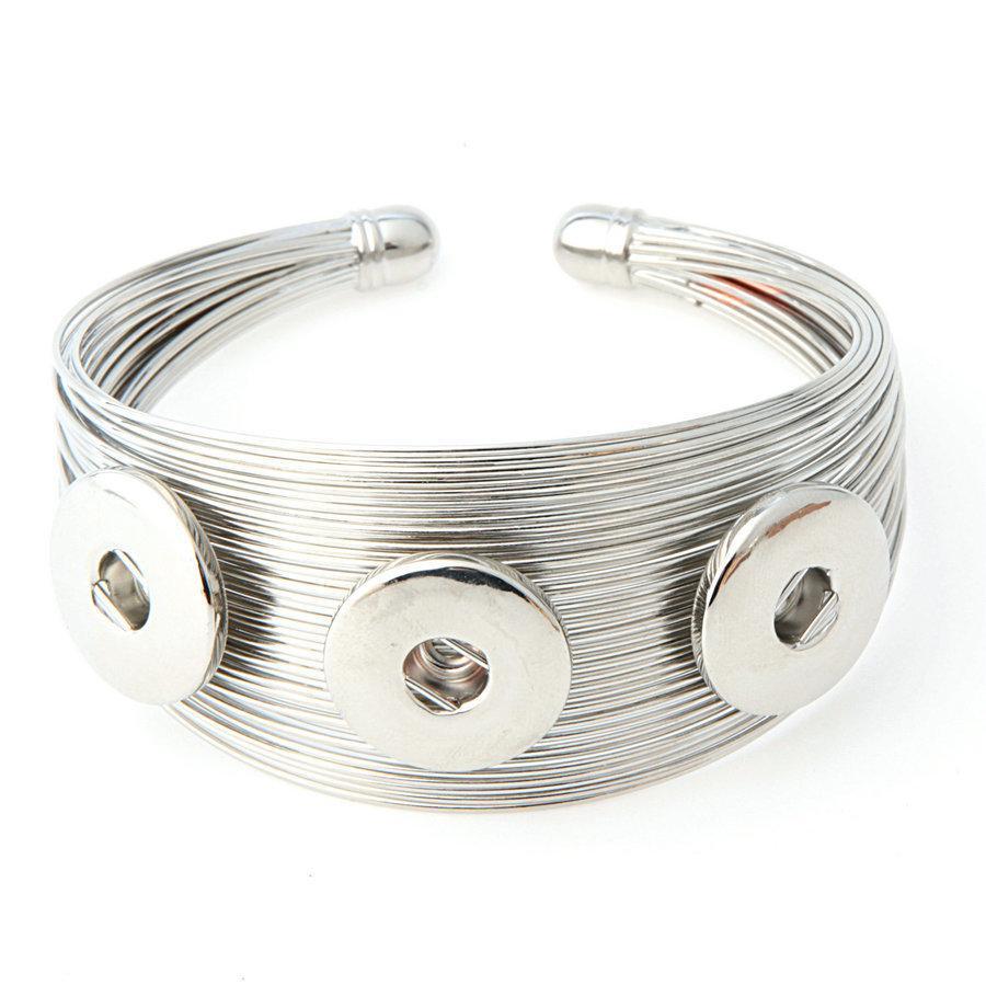 Großhandel Mode Noosa Diy Armband Haken Armbänder Frauen Hart Von